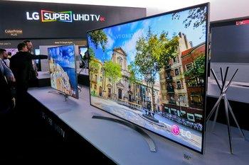 Una tele LG 4K lanzada en 2016.