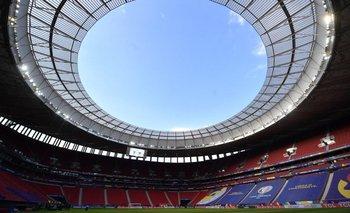 El Estadio Mané Garrincha