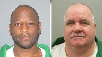 Departamento de Correcciones de Carolina del Sur Freddie Owens (izquierda) y Brad Sigmon (derecha) debían ser ejecutados en junio