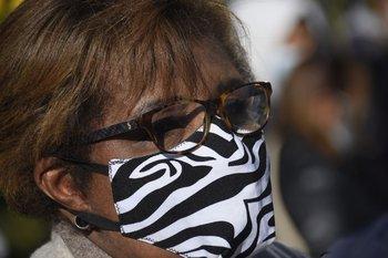 Gloria Rodríguez, correligionaria política, también estuvo presente