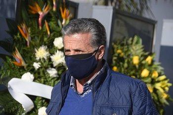 Su ex compañero, Fernando Álvez, se hizo presente