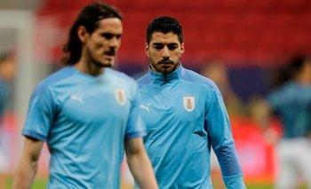 Cavani y Suárez no estarán en tres partidos claves