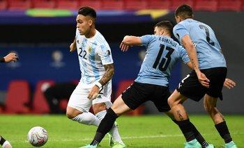 Lautaro Martínez vuelve a la titularidad en Argentina ante Uruguay