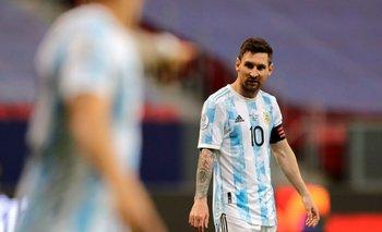 La remera de Messi fue a parar a las manos de Gio González