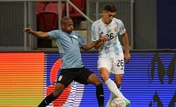 De La Cruz contra Argentina en la Copa América