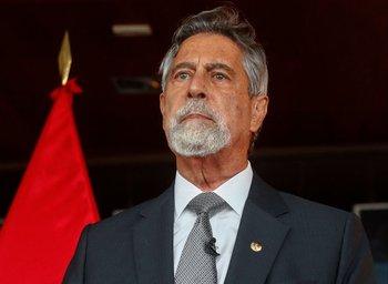 Francisco Sagasti, presidente interino de Perú