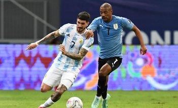 De La Cruz y De Paul en la Copa América