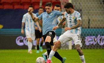 Valverde no consigue poner el juego que Uruguay necesita