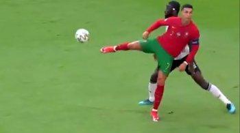 La jugada de lujo de Cristiano Ronaldo ante Alemania