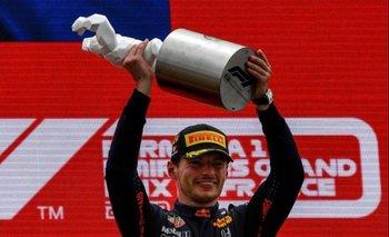Max Verstappen ganó en Francia