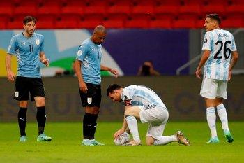De la Cruz y Messi