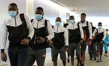 Los integrantes de boxeo de Uganda arribaron a Tokio