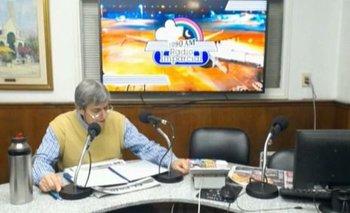 Jorge Parodi trabajó en radio Imparcial hasta 2017