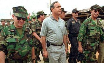 """El """"poder detrás del poder"""": Vladimiro Montesinos fue considerado como uno de los hombres más poderosos de Perú durante el gobierno de Fujimori"""