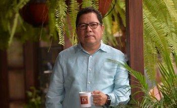"""Mora, quien también es periodista, fue arrestado en su casa la noche del domingo por """"incitar a la injerencia extranjera en los asuntos internos y pedir intervenciones militares"""