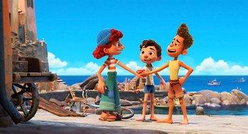 Luca está disponible desde el 18 de junio en Disney+