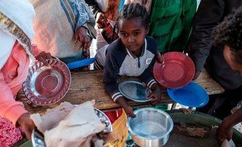 En un informe, estimó que 353.000 personas en Tigray estaban en la fase 5 (catástrofe) y casi 1,8 millones más están en la fase 4 (emergencia)