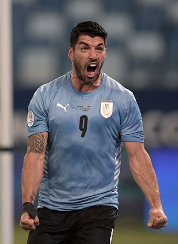 El grito de gol de Suárez que rompió la sequía celeste