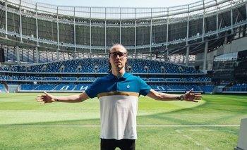 Diego Laxalt fue presentado en Dinamo de Moscú, su nuevo club