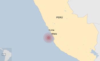Perú se encuentra sobre el Cinturón de Fuego del Pacífico donde se registran alrededor del 85 % de la actividad sísmica mundial
