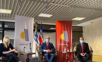 Inauguración de la iniciativa Joaquín Suárez
