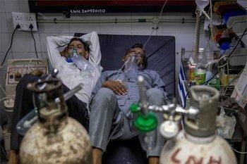 Se cree que la variante Delta fue la que causó la segunda y devastadora ola de coronavirus en India.