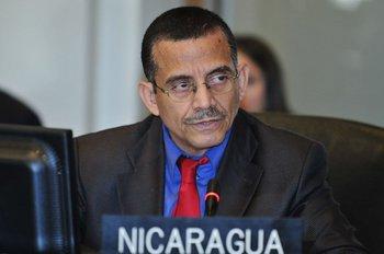 El embajador de Daniel Ortega ante la Organización de Estados Americanos, Luis Alvarado