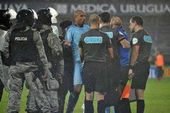 Diego Arismendi encabezó las protestas del final
