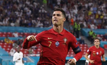 Cristiano Ronaldo, 109 goles con Portugal