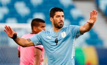 Luis Suárez en la Copa América