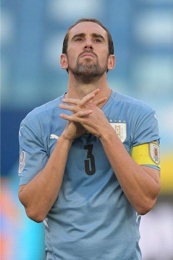 Diego Godín, capitán celeste