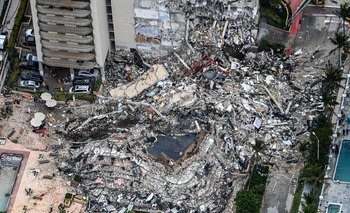 El edificio cayó de forma parcial en 12 segudos el 24 de junio de 2021