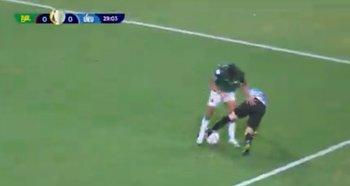 La jugada de Nahitan Nández ante Bolivia que fue destaca por la Copa América