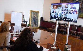 Ecos, acusaciones, cortes y dificultades: Cosse sorteó llamado a sala virtual tras meses desde su convocatoria