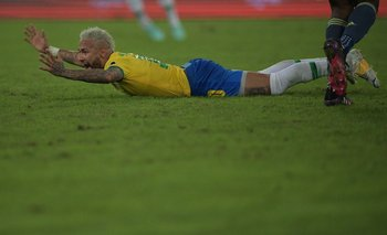 Brasil ya jugó en el Nilton Santos frente a Colombia