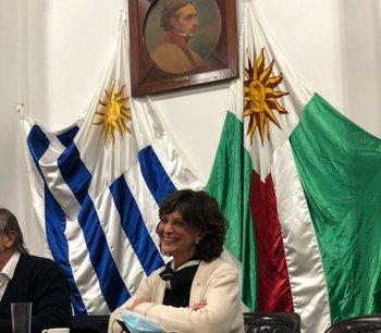Mónica Silva asumió como titular de la Federación Rural.