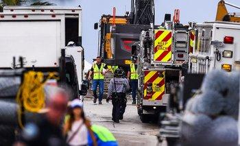 Rescatistas israelíes y mexicanos llegaron a Miami para colaborar en la búsqueda de las personas desaparecidas