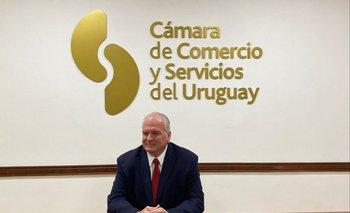 como nuevo presidente para el período 2021-2022 de la Càmara de Comercio y Servicios del Uruguay (CNCS)