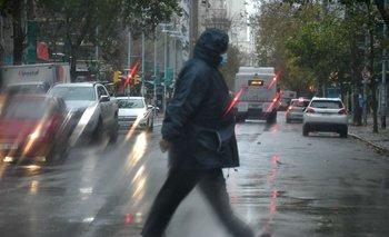 Lluvias y tormentas comenzarán por el norte y se desplazarán hacia el centro del país