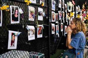 Familiares mantienen una esperanza cada vez menor de encontrar a alguien con vida