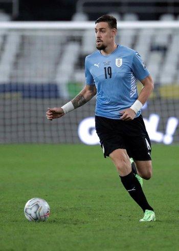 Sebastián Coates debutó en la Copa