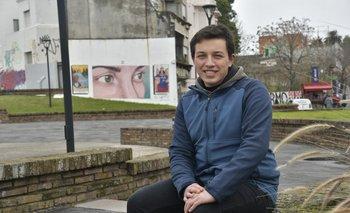Mariño tiene 18 años, cursó el Liceo Militar y trabaja en la panadería de un supermercado