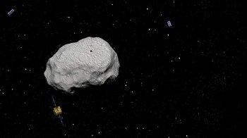 Hay decenas de asteroides que orbitan el Sistema Solar.