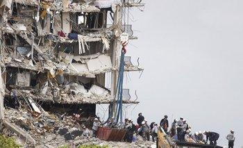 La alcaldesa Daniella Levine Cava anunció cuatro nuevas muertes a causa de la destrucción