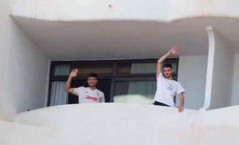 """El hotel Palma Bellver, donde están encerrados los jóvenes, fue apodado """"hotel Covid"""""""