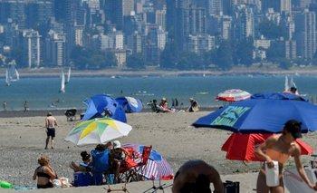 Antes del domingo, las temperaturas en Canadá nunca habían pasado de los 45°C.