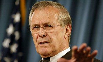 Donald Rumsfeld, exjefe del Pentágono, murió este miércoles a los 88 años