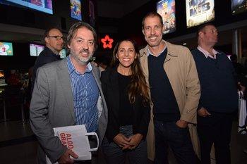Álvaro Paz, Cecilia Igorra y Javiern Todeschini