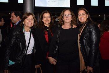 Inés Vizconde, Florencia Canavero, Silvia Evia e Inés Martiínez