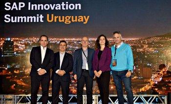 Leandro Estanga, Fernándo Armengaris, Leomas Goldoni, Claudia Boeri y Jorge Rama